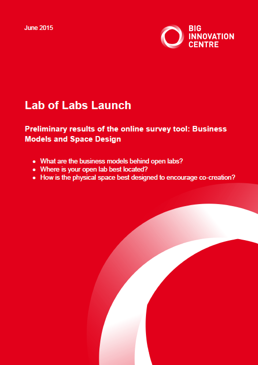 Lab of Labs launch - business models and space design