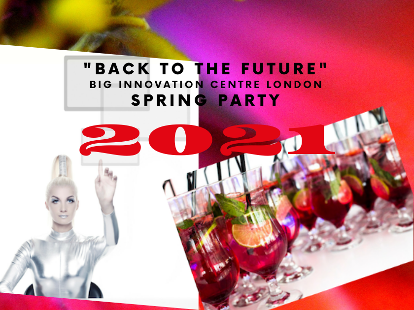 Big Innovation Centre Spring party invitation