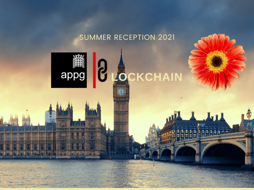 Summer reception 2021 - Blockchain - APPG