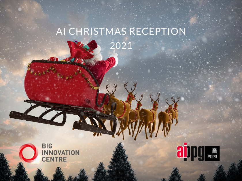 AI Christmas reception 2021 - APPG - Big Innovation Centre