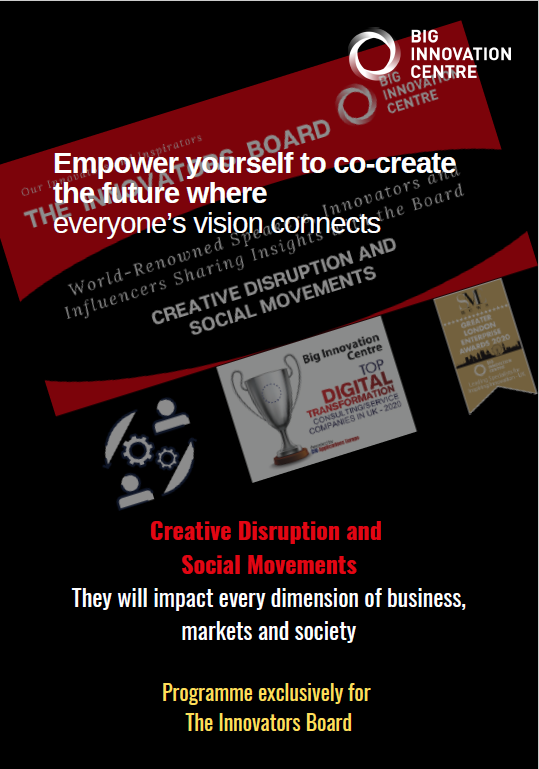 Creative disruption and social movements - empower yourself to co-create the future